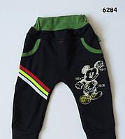 Весенние штаны Mickey Mouse для мальчика. 1 год