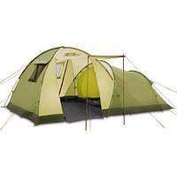 Палатка туристическая 4 х местная с тамбуром Pinguin Omega 4, арт. PNG 1303-зел
