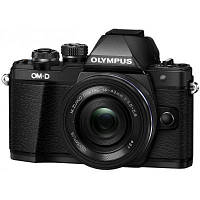 Цифровой фотоаппарат OLYMPUS E-M10 mark II Pancake Zoom 14-42 Kit black/black (V207052BE000)
