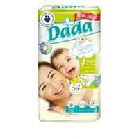 Подгузники Памперсы DADA Premium 4 maxi 54шт Польша