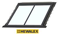 Система крепежей плоских коллекторов Hewalex для встраивания в крышу