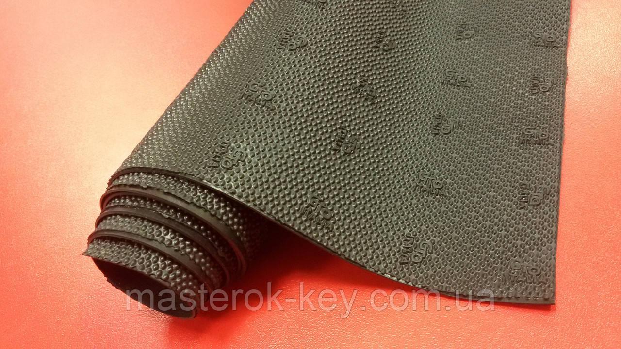 Профилактика листовая зашкуренная Gto italia(гто италия) original 400*600*1.8мм цвет черный