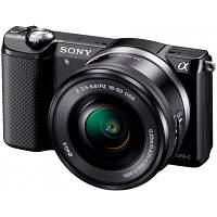 Цифровой фотоаппарат SONY Alpha 5000 + 16-50mm + 55-210mm kit Black (ILCE5000YB.CEC)