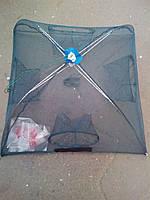 Раколовка зонт квадрат на 4 входа 1м*1м (ятерь)