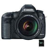 Цифровой фотоаппарат Canon EOS 5D Mark III + 24-105mm IS USM (5260B032)
