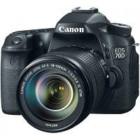 Цифровой фотоаппарат Canon EOS 70D EF-S 18-135 IS kit (8469B042)