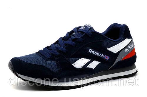 Мужские кроссовки Reebok GL3000, темно-синие с белым