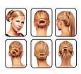 Заколки для волос Hairagami Bun Tail резинка - заколка ( Хеагами ), фото 2