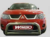 Дуга защитная передняя (кенгурятник) Mitsubishi Outlander 2007-2010, фото 1
