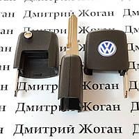 Корпус верхней части выкидного ключа для VOLKSWAGEN (Фольксваген) лезвие HU49