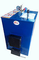 Пиролизный котел PRO-M 35 кВт. Срок горения 12 часов! (брикеты, опилки, дрова)