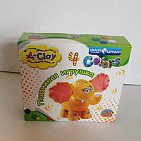 """Набор массы для лепки танцующая игрушка """"Оранжевый слон"""""""