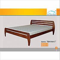 """Двуспальная кровать из дерева """"Престиж-2"""" ЮТА, фото 1"""