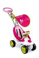 Детская каталка Smoby Bubble Go Pink 413001