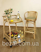 Барный стул плетенный из ротанга Стиль, фото 1