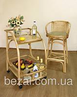Барный стул плетенный из ротанга Стиль