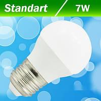 Светодиодная лампа Biom, 7W G45 E27 3000К матовая