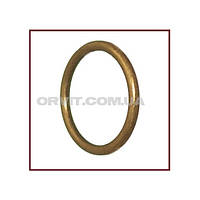 Кольцо металлическое к кованым карнизам ø19мм цвет антик