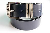Ремень брендовый синий 'Tommy Hilfiger'