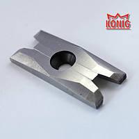 Ножи зачистные для зачистки сварных швов ПВХ Konig