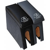 Подлокотник бар ВАЗ 1117-1119 Калина мягкий с вышивкой черный
