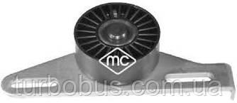 Ролик ремня генератора (натяжной) Renault Kangoo (Рено Кенго) /Clio/Logan 1.4/1.6i 97 -  Metalcaucho MC05485