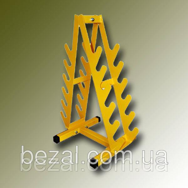 Стойка горка для гантелей 12шт - ТМ BEZAL (ТМ Безал) в Запорожье