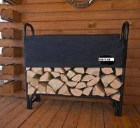 Дровница металлическая для дров разборная, фото 1