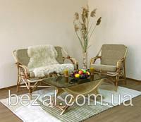 Набор плетенной мебели из ротанга Для отдыха №1 (диван+ кресло), фото 1
