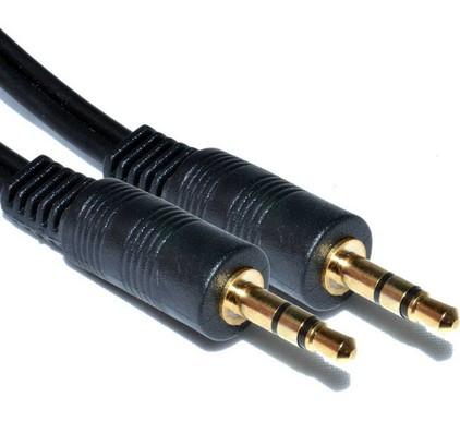 Аудио-кабель 3.5 jack M/M 1м #100255