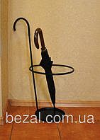 Корзина для сушки зонтов белая  черный