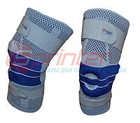 Суппорт колена, усиленный ремнями с дополнительной гелевой фиксацией XL. SKT1816