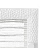 Решётка вентиляционная 17/49 VENUS белая с жалюзями