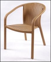 Кресло садовое из искусственного ротанга КСР-4, фото 1