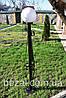 Фонарь садовый металлический