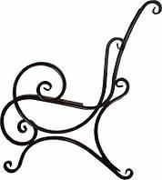 Опора лавки садово-парковой металическая с подлокотником № 5