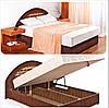 """Двуспальная кровать с подъемным механизмом """"Фантазия"""""""