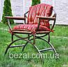 Кресло садовое металическое Венеция ясень