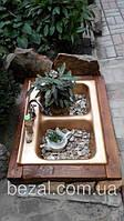 Садовый декор инсталяция Золотая Мойка, фото 1