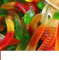 Желейная конфета Черви 150 шт.