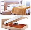 """Кровать двуспальная с подъемным механизмом """"Камила"""""""