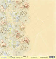 Бумага от Scrap Мир, Корица — Воздушный шар, 30x30 см, 1 лист