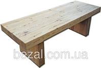 Стол из натурального дерева соснового массива