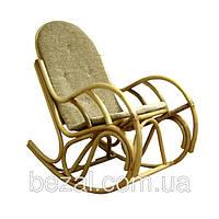 Кресло качалка из ротанга Бриз с подушкой, фото 1
