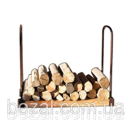 Дровница  разборная металлический каркас и основание из бруса - ТМ BEZAL (ТМ Безал) в Запорожье