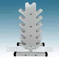 Вертикальная стойка для гантелей на 13 штук, фото 1