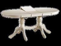 Стол обеденный деревянный Anjelica bianco Signal серовато-бежевый