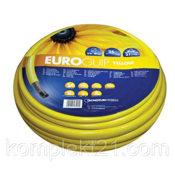 """Поливочный шланг TecnoTubi Yellow Euro Guip 1/2"""""""