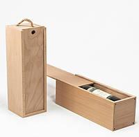 Футляр винный деревянный ручной работы