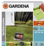 Комплект Gardena для полива с дождевателем OS